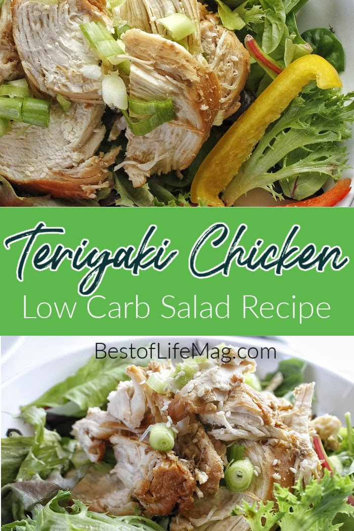 Teriyaki chicken is delicious, but it is even more flavorful when you make an Instant Pot low carb teriyaki chicken salad recipe. Teriyaki Chicken Bowl Recipe | Healthy Teriyaki Chicken Recipe | Instant Pot Recipes with Chicken | Instant Pot Teriyaki Recipe | Healthy Instant Pot Recipe | Easy Dinner Recipes #chicken #instantpot via @amybarseghian