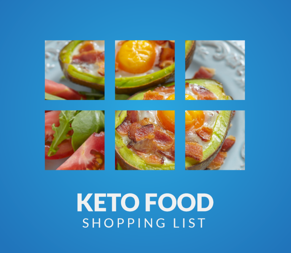 Keto Food Shopping List ebook