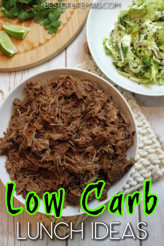 Low carb lunch ideas can help you lose weight at home with healthy recipes that are easy to make and delicious! Low Carb Lunch Recipes | Weight Loss Recipes | Low Carb Recipes for Work | Healthy Recipes for Weight Loss | Weight Loss Tips | Low Carb Cooking Ideas | Keto Lunch Recipes | Keto Recipes for Weight Loss #lowcarb #recipes via @amybarseghian