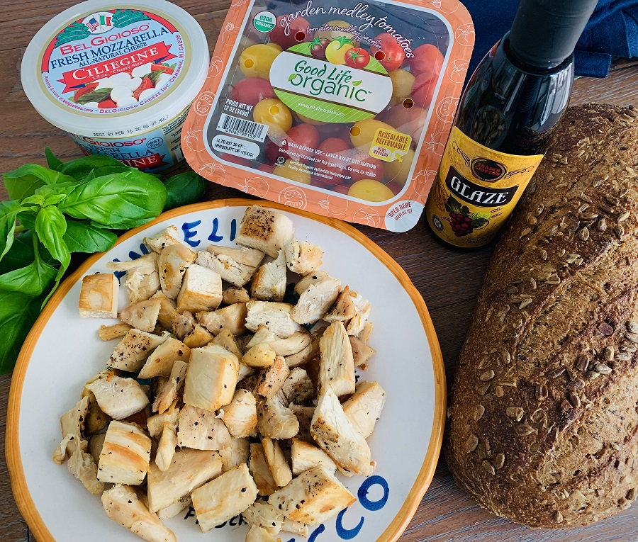 Healthy Chicken Caprese Recipe Ingredients