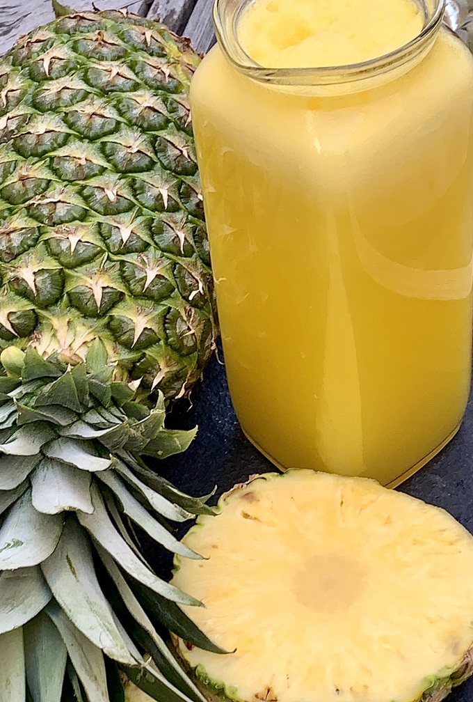 how to make fresh pineapple juice  the best of life® magazine