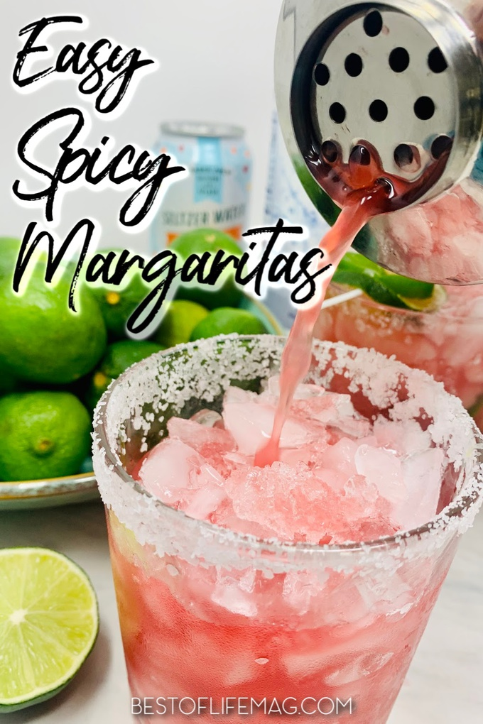 Try this easy spicy margarita recipe with jalapenos during your next cocktail hour or party to heat things up! Sweet and Spicy Margarita Recipe | Spicy Happy Hour Recipes | Spicy Cocktail Recipes | Margaritas with Jalapenos | Jalapeno Margarita Recipe | Blood Orange Margarita Recipe | Blood Orange Cocktails #margaritas #happyhour via @amybarseghian