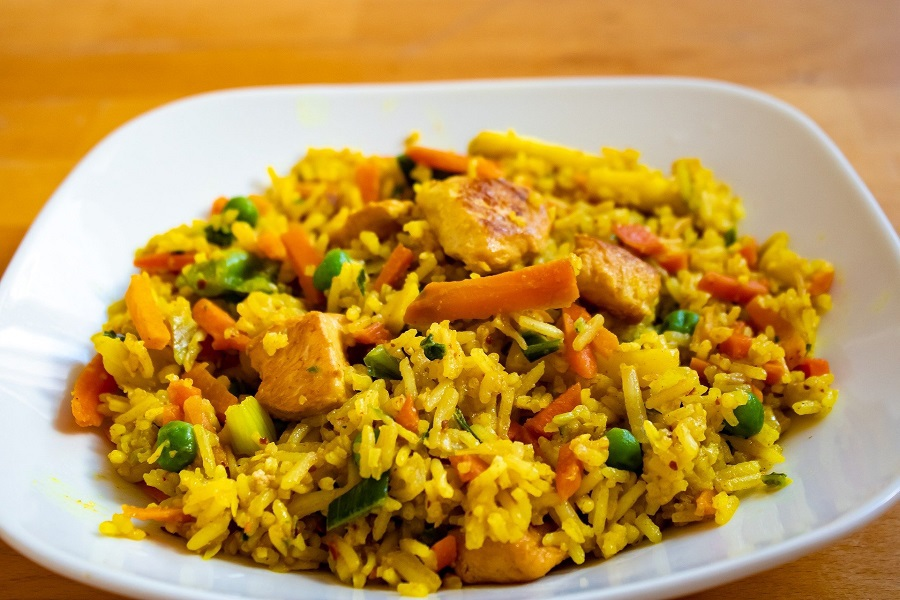 Crockpot Chicken and Rice Recipes Fried Rice with Chicken