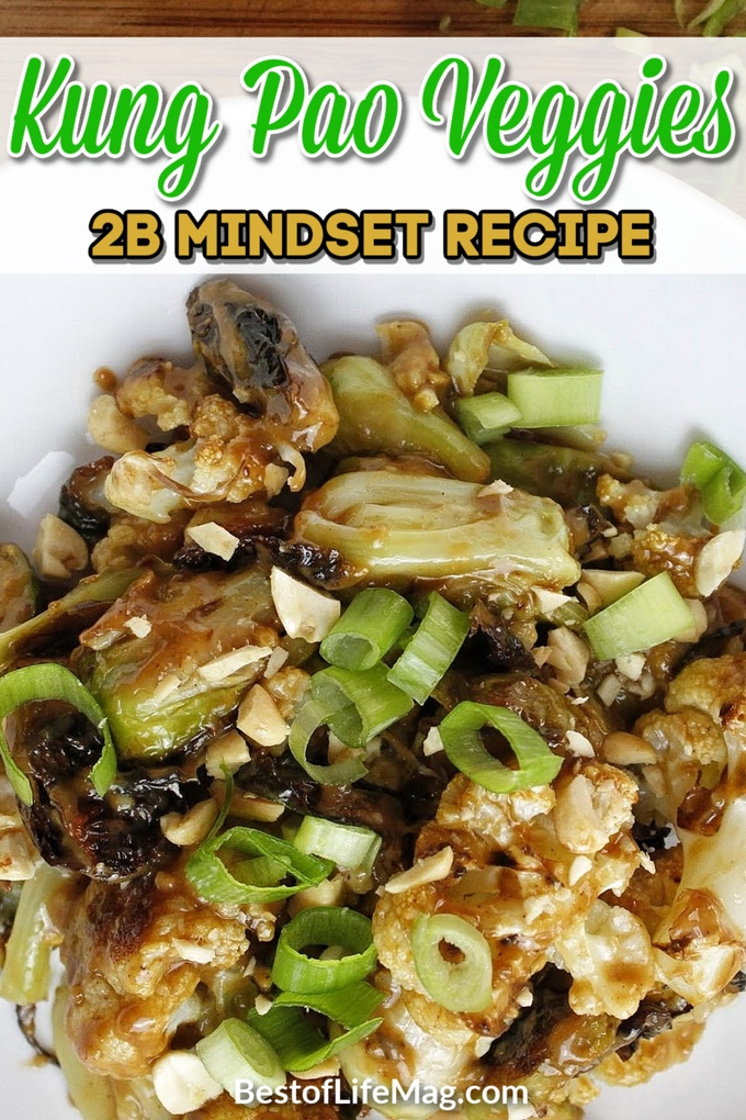 You can take the kung pao from kung pao chicken, remove the chicken, and add healthy vegetables to make a delicious 2B Mindset recipe, kung pao veggies. Kung Pao Cauliflower | Kung Pao Sauce | Healthy Kung Pao Recipe | Veggies Most Recipes | 2B Mindset Recipes | Healthy Dinner Recipes | Recipes for Weight Loss #2bmindset #kungpao via @amybarseghian