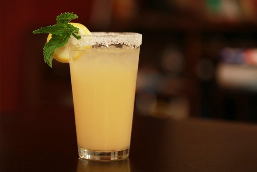 Margarita Pitcher Recipes Close Up of a Yellow Margarita