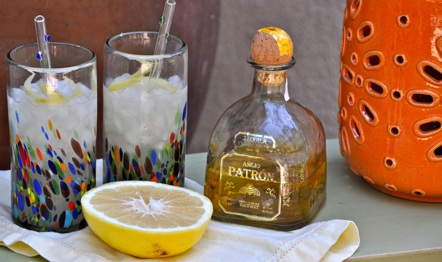 Fruity Margarita Recipes Ingredients Gathered Together on a Table