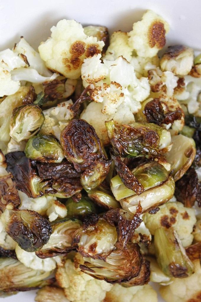 2B Mindset Kung Pao Veggies Recipe Close Up of Veggies Cooked