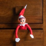 Elf on the Shelf Crockpot Ideas Elf Sitting in a Drawer