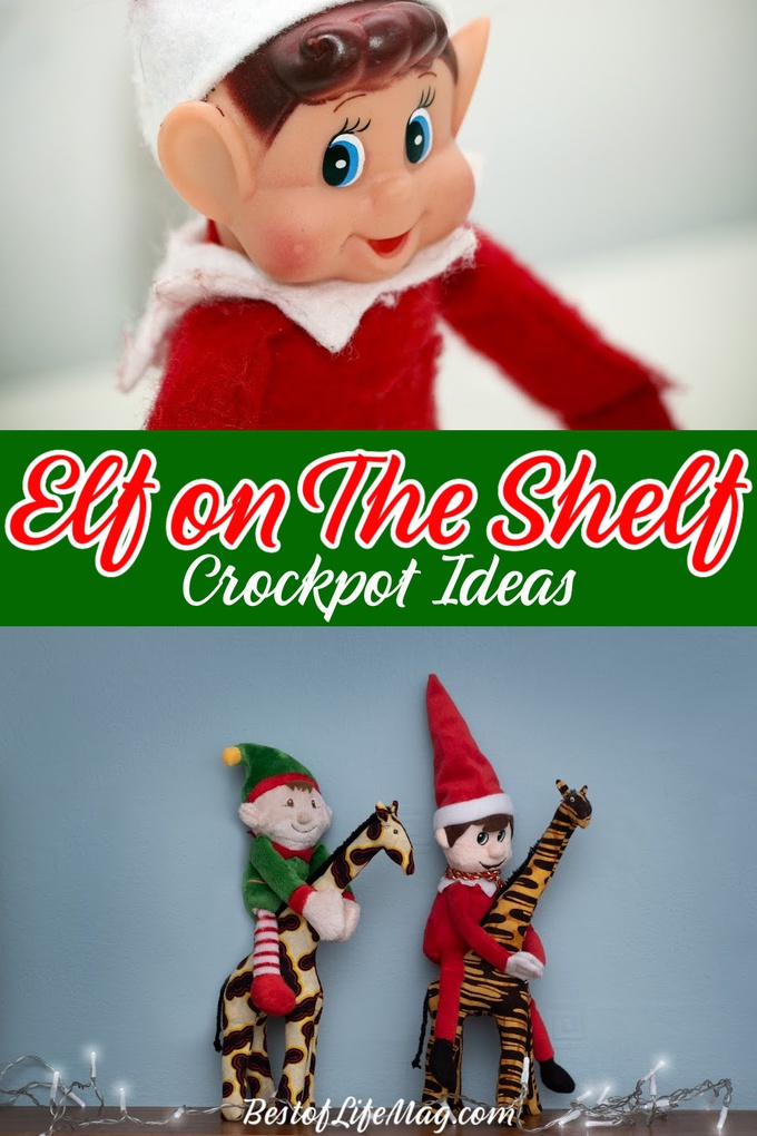 Need some Elf ideas for inspiration? Use these Elf on the Shelf crockpot ideas to get creative this holiday season and to delight your kids. Elf on The Shelf Quarantine | Elf on The Shelf Ideas for Kids | Elf on The Shelf Kitchen Ideas | Crockpot Elf on The Shelf | Tips for Elf on The Shelf | Holiday Ideas for Families | Family Traditions | Christmas Tips for Parents #elfontheshelf #crockpot via @amybarseghian