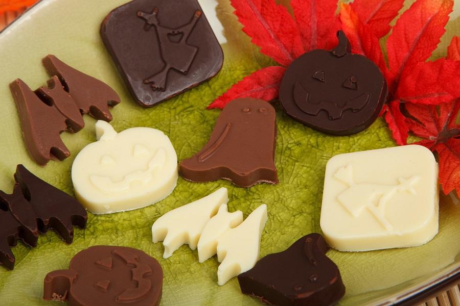 Halloween Crockpot Recipes Platter with Candy