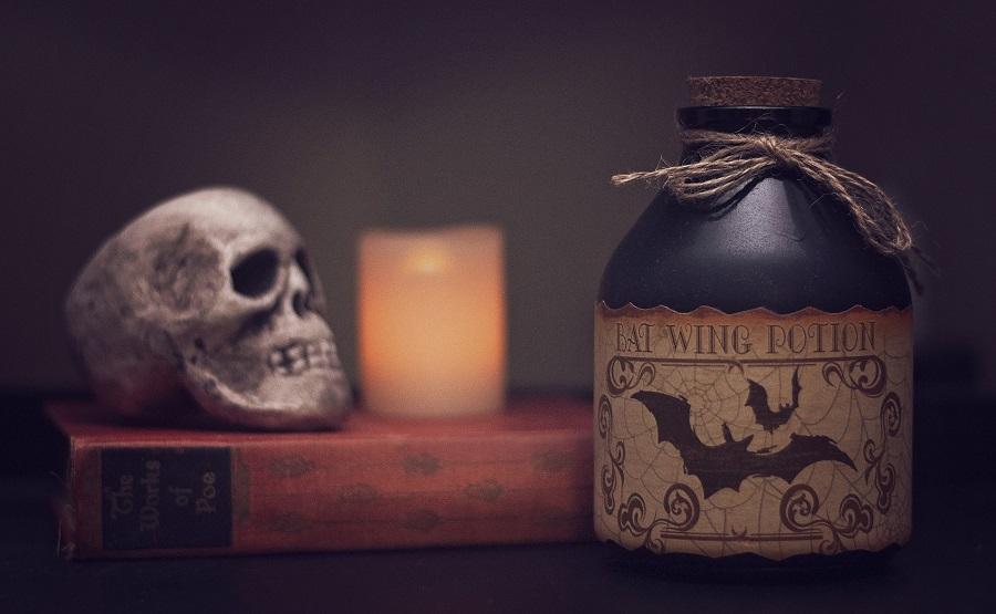 DIY Halloween Costumes For Adults Halloween Decor Sitting on a Shelf