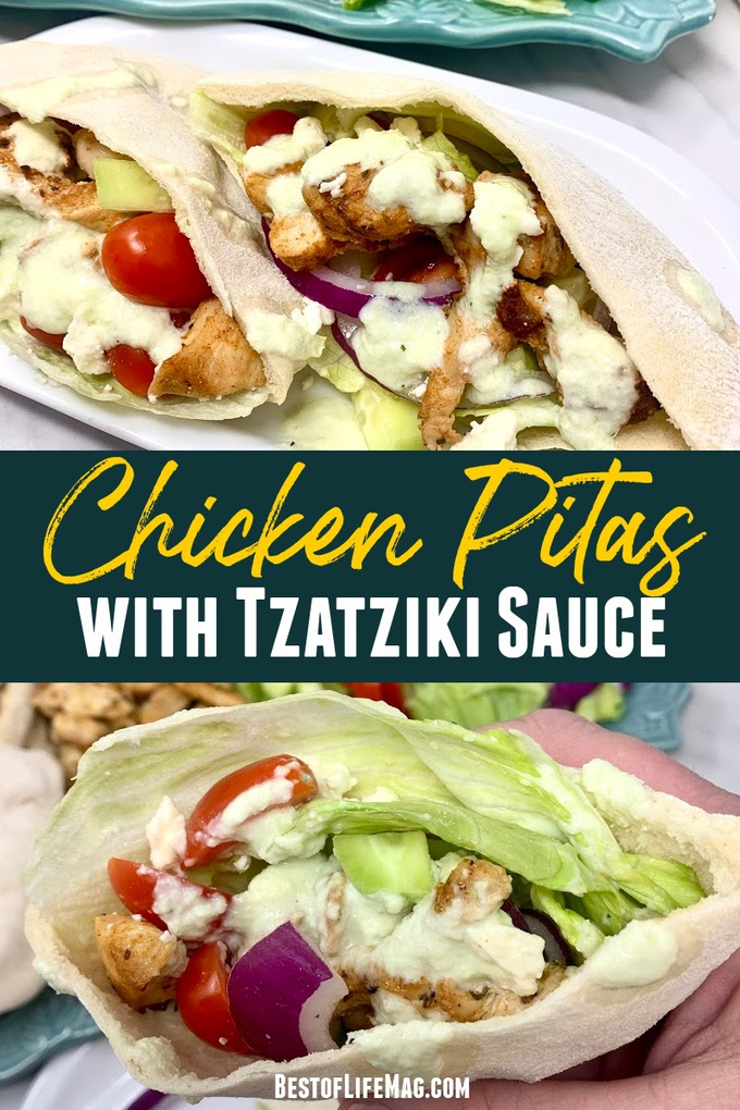 Making this delicious chicken and tzatziki in pita pockets recipe is a terrific way to taste another culture's food while enjoying a delicious meal. The leftovers are an easy snack recipe, too! Tzatziki Sauce Recipe | Chicken Pita Recipe | Greek Chicken Recipe | Greek Pita Pockets | Recipes with Pita Bread | Recipes with Tzatziki Sauce | Greek Sandwich Recipes #pita #recipe via @amybarseghian