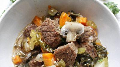 Crockpot 2B Mindset Beef Stew Close Up