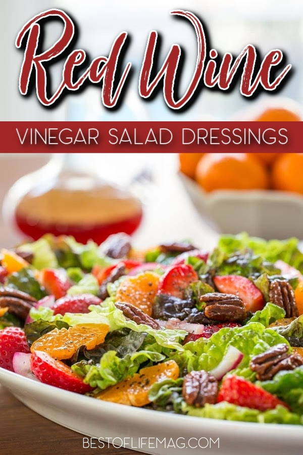 Take your salad recipes to the next level with a delicious homemade dressing! These red wine vinegar dressing recipes add flavor to any salad. Red Wine Salad Dressing | Red Wine Vinaigrette | Homemade Vinaigrette | Salad Dressing Recipes | Red Wine Vinegar Recipes | Red Wine Vinegar Dressing No Mustard | Salad Dressing with Sugar | Sweet Red Wine Vinegar Dressing #saladdressing #healthyrecipes via @amybarseghian