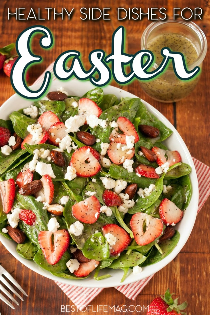 There are plenty of healthy Easter dinner side dishes you can use to make a traditional Easter dinner healthy and delicious. Vegetable Easter Side Dishes | Make Ahead Side Dishes for Easter | Potato Sides for Easter | Crockpot Easter Side Dishes | Easter Side Dishes Veggies | Holiday Side Dishes | Easter Dinner Ideas | Recipes for Easter Dinner #easter #recipes via @amybarseghian