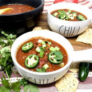 Keto Diet Tips for Beginners Angled View of Two Bowls of Chili