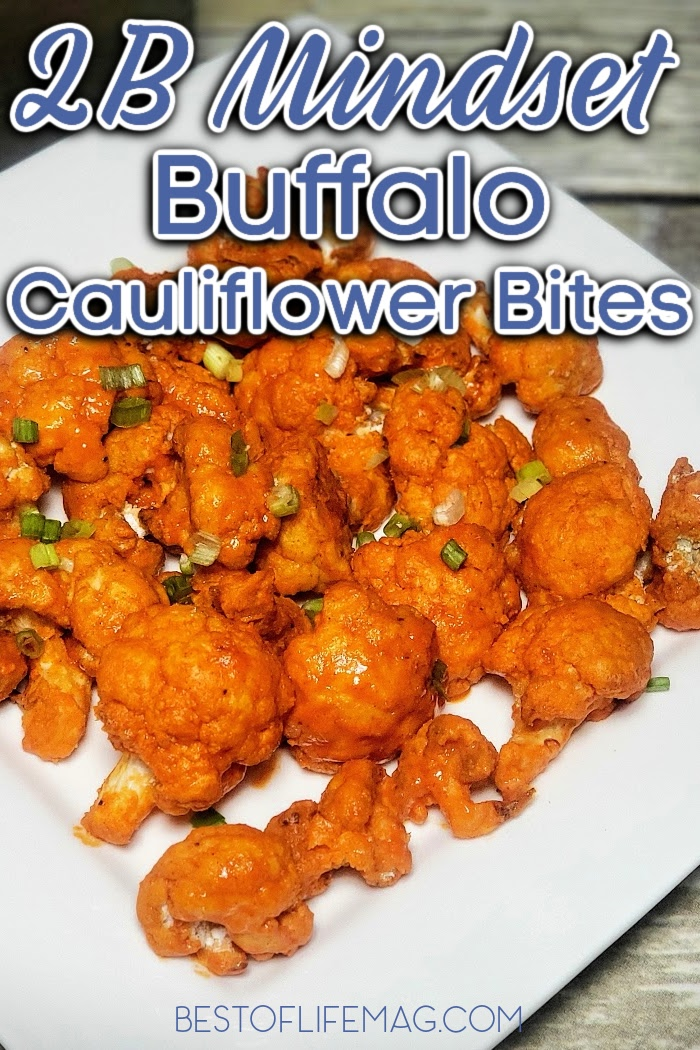 Even if you think you aren't a fan of this tender white veggie, you'll reconsider when you bite into these cauliflower buffalo bites that are 2B Mindset friendly. 2B Mindset Snack Recipes | 2B Mindset Recipes | Weight Loss Snack Recipes | Beachbody Recipes #2BMindset #beachbody via @amybarseghian