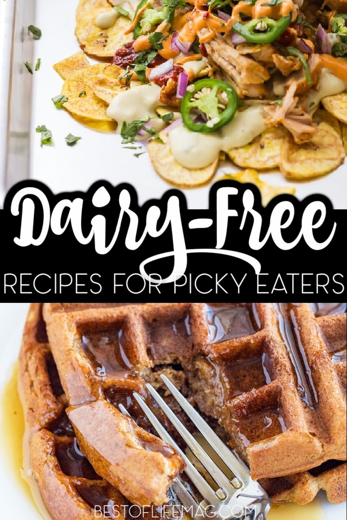 Going dairy free is not always easy! These dairy free recipes for picky eaters will help make the transition to a dairy free diet easier. Dairy Free Recipes for Kids   DF Recipes   Healthy Recipes   Recipes for Kids   Recipes for Food Allergies #dairyfree #recipes via @amybarseghian