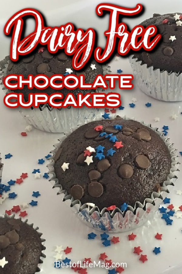 It's hard finding good chocolate dairy free cupcakes but thanks to aquafaba and a little imagination, we may have found the best one yet. Dairy Free Dessert Recipes | Dairy Free Recipes | Food Allergy Party Recipes | Dairy Free Cupcakes | Chocolate Cupcakes | Dairy Free Recipes with Chocolate | Healthier Cupcake Recipes #dairyfree #dessertrecipes via @amybarseghian