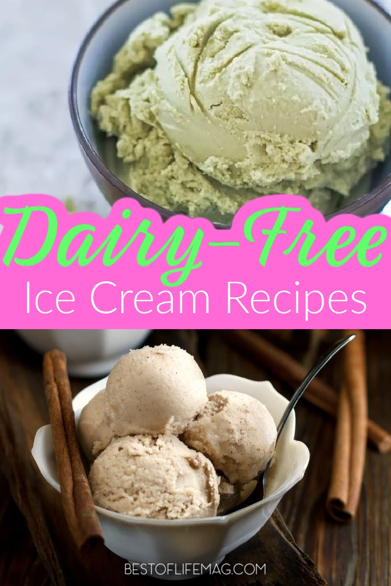 Enjoying dairy free ice cream that you've made at home is a great way to stay healthy and happy while enjoying the summer weather. Dairy Free Dessert Recipes | Summer Dessert Recipes | Summer Party Ideas | Coconut Milk Ice Cream Recipes | Ice Cream Without Dairy | Food Allergy Recipes #dairyfree #dessertrecipes via @amybarseghian
