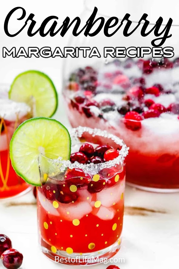 Cranberry margaritas are perfect for fall and winter! These easy margarita recipes also present beautifully during parties or when entertaining. Party Recipes | Fall Margarita Recipes | Christmas Cocktail Ideas | Margaritas with Cranberries | Winter Margarita Recipes | Winter Cocktail Ideas | Recipes with Cranberries | Fruity Margarita Recipes | Easy Margaritas #margaritas #christmas #fallrecipes via @amybarseghian