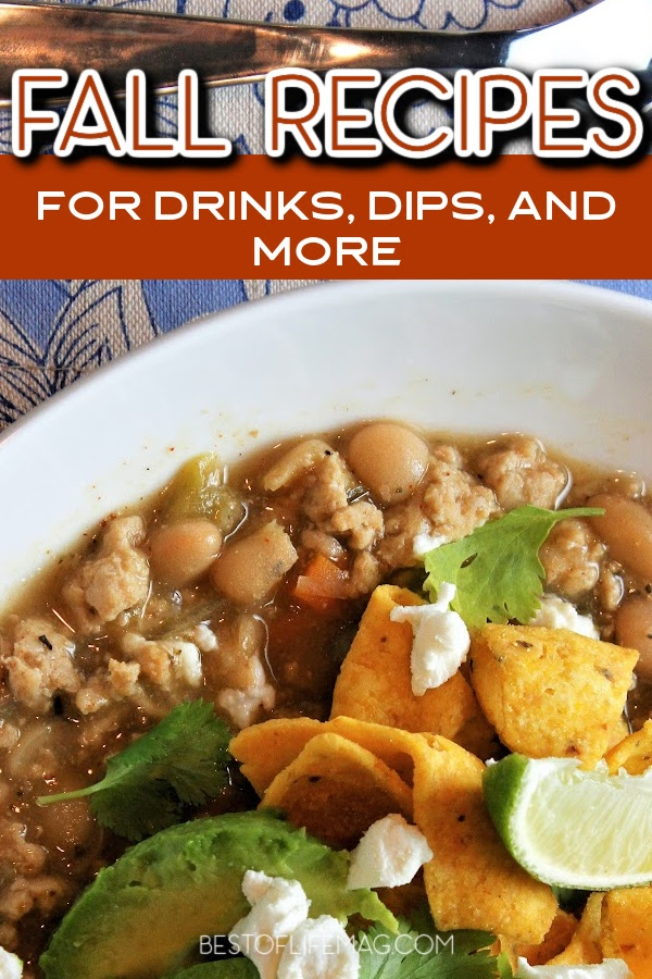 Fall weather is perfect for sipping cider by the fire and enjoying fall recipes like dips, drinks, breakfast, smoothies, and more with family and friends! Dip Recipes | Cider Recipes | Fall Drink Recipes | Breakfast Recipes | Recipes for Entertaining | Thanksgiving Recipes | Recipes for Chilly Days | Soup Recipes for Fall | Chili Recipes for Fall #fallrecipes #seasonalfood via @amybarseghian