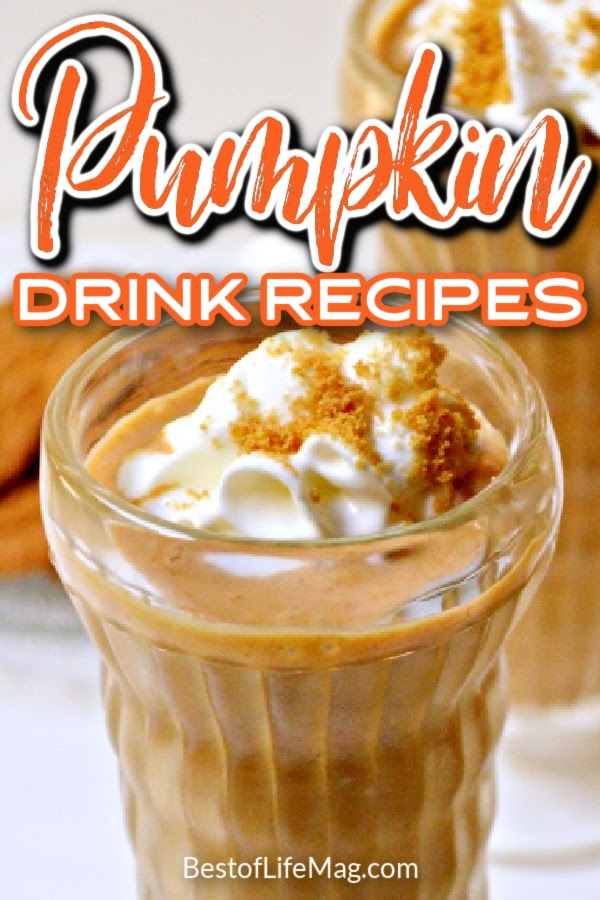 Pumpkin drinks are perfect to enjoy during the beautiful fall months and on Halloween with friends and family! Halloween Drinks with Alcohol | Halloween Drinks | Pumpkin Boozy Drinks | Boozy Drinks for Fall | Pumpkin Drink Recipes | Pumpkin Spice Recipes | Drinks with Pumpkin Spice | Halloween Drink Recipes | Drinks for Fall #pumpkindrinks #halloween via @amybarseghian