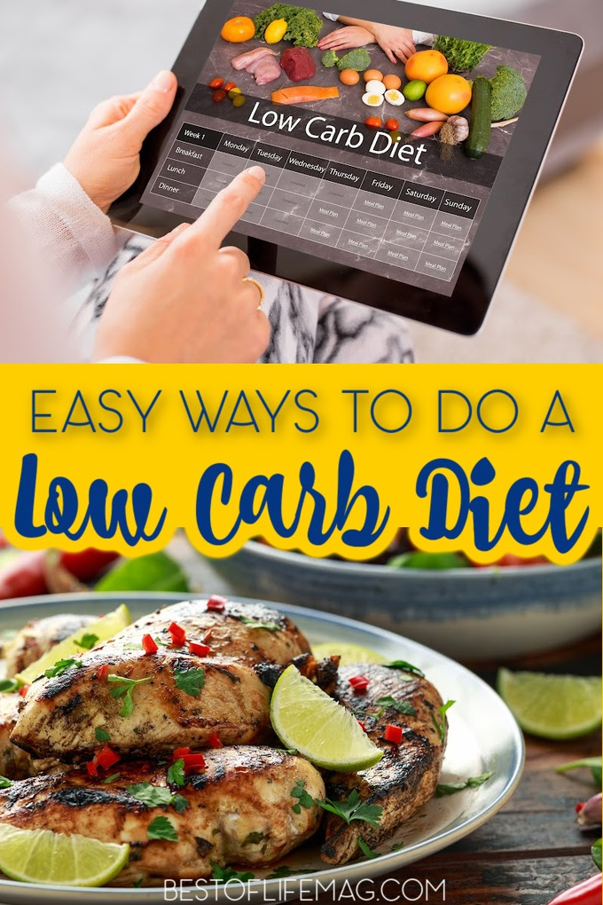 Use some easy ways to do a low carb diet to start your diet plan and help you lose weight in a safe, healthy, and delicious way. Low Carb Diet Tips | Tips for Low Carb Diets | Low Carb Recipes | Keto Recipes | Weight Loss Tips | Workout Tips | Low Carb Diet Ideas | Weight Loss Ideas | Losing Weight for Women #lowcarbdiet #weightlosstips via @amybarseghian