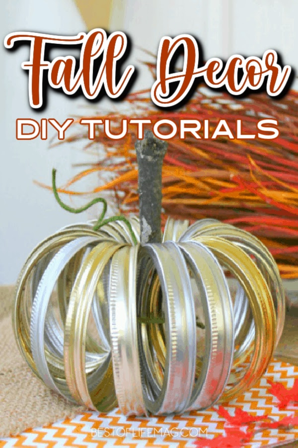 DIY Fall Décor doesn't have to be unflattering! These are some stylish DIY Fall Decor ideas that you can make at home to enhance your fall look! DIY Crafts for Fall | Fall Décor | Homemade Fall Décor | DIY Home Décor | Fall Craft Ideas | DIY for the Home | Fun DIY Ideas | Fall Crafting | DIY Fall Crafts | DIY Wreaths for Fall | DIY Fall Centerpieces #DIY #falldecor via @amybarseghian